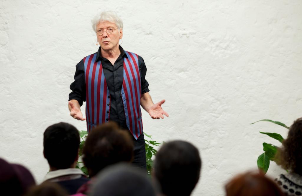 Jean Sommer - Prise de parole en public